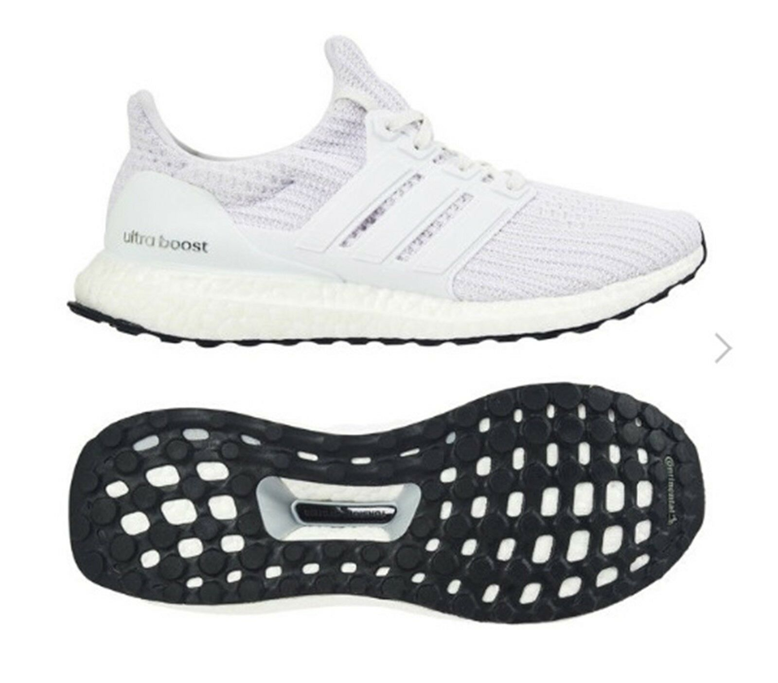 Adidas Men ULTRABoost 4.0 Training shoes Running White Sneakers shoes  BB6168  convenient