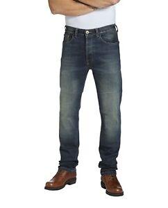 Bescheiden Rokker Rokkertech Slim Straight Länge 34 Herren Motorradjeans Extrem Abriebfest Jeans Herrenmode