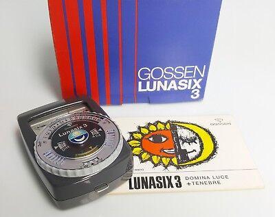 Belichtungsmesser Foto & Camcorder Gossen Lunasix 3 SpäTester Style-Online-Verkauf Von 2019 50%
