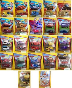 Cars-amp-Planes-Mattel-Disney-Pixar-Autos-Modellini-Voitures-Coches-Diecast-Mattel