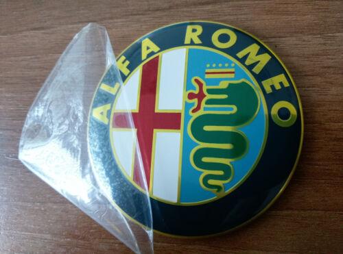 145,146,147,155,159,166 2pcs color Alfa Romeo emblem badge logo insignia 74mm