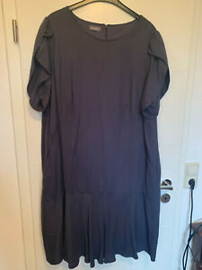 Samoon Kleid, Blau-Grau, Größe 52 | eBay