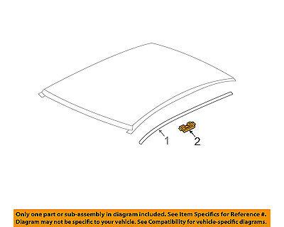 Chevrolet Gm Oem 12 18 Sonic Roof Molding Retainer