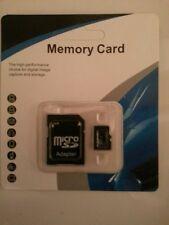 128GB MAX schede microSD & Free Adattatore per fotocamere smartphonestablets PC PDA