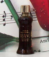 Abano Perfumed Bath Oil 0.25 Oz. By Prince Matchabelli. Vintage. Unbox.