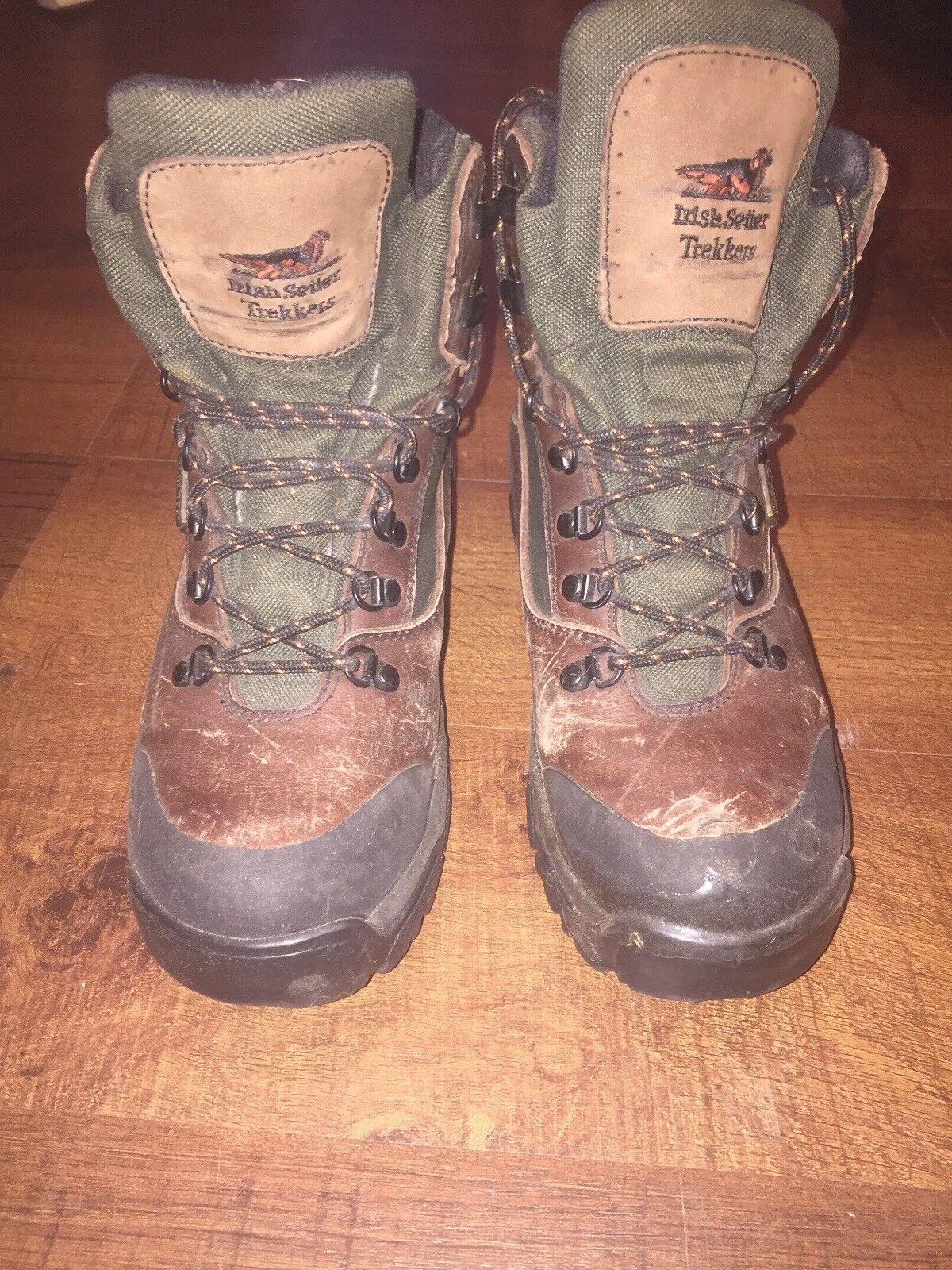 Irish Setter Leather Hiking Boots Waterproof