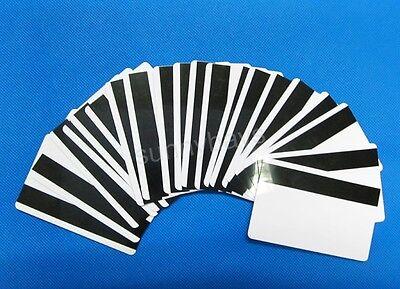 20PCS Blank Hi-Co Magnetic Strip Cards ID 3-Track FOR Mag Stripe Writer Encoder
