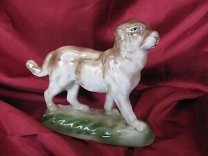 1930s VINTAGE PORCELAIN FIGURINE SHEPHERD DOG