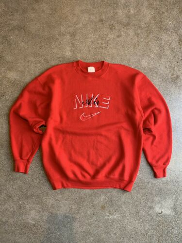 Vintage 1990s Nike Air Embroidered Crewneck Size X
