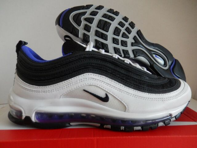 NIKE AIR MAX 97 WHITE BLACK PERSIAN VIOLET SZ 11 [921826 103]