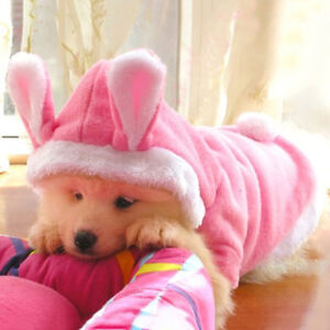 FT-Pink-Fleece-Cute-Rabbit-Dog-Costumes-Hoodie-Coats-Dog-Clothes-Pet-Supplies-S