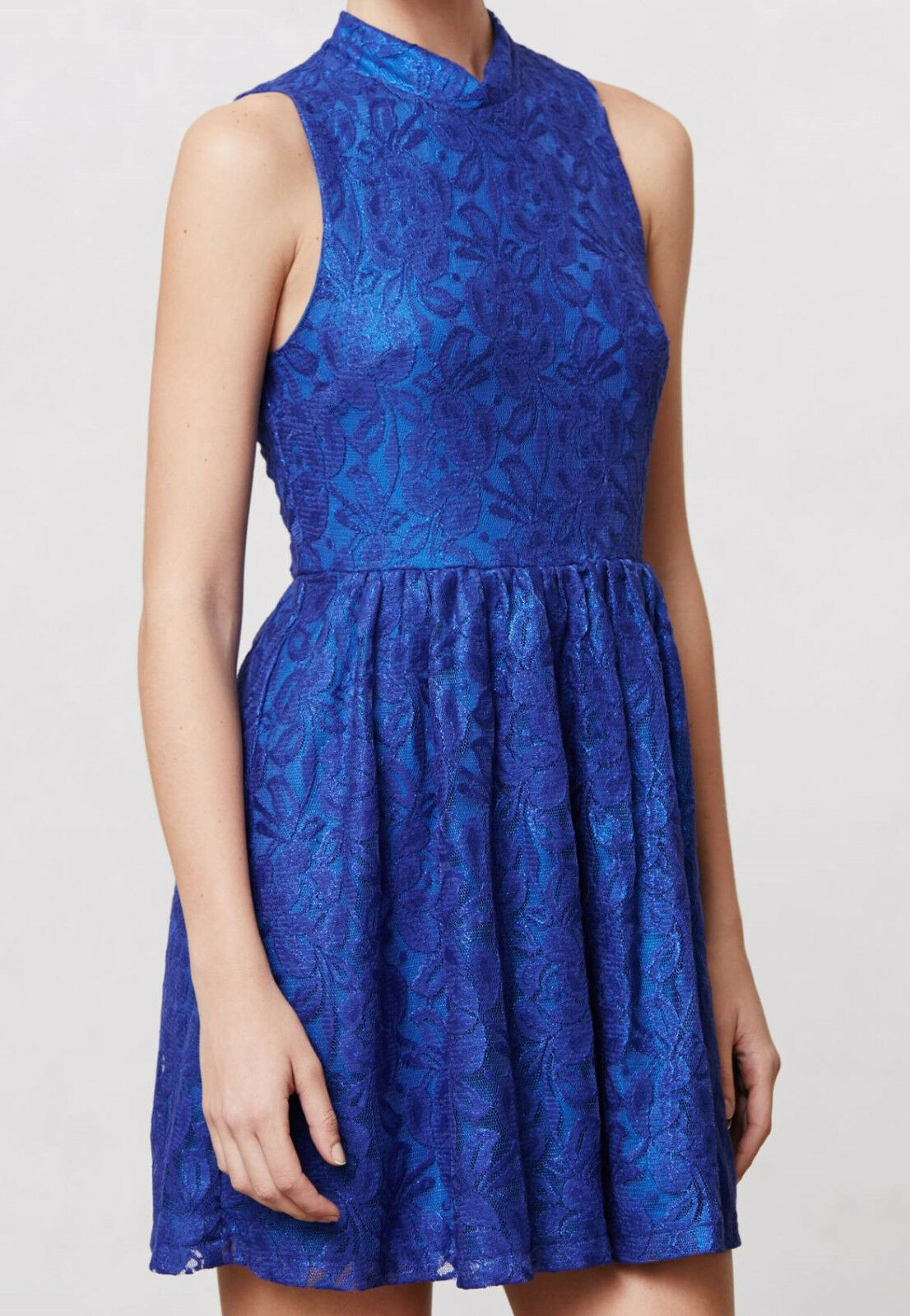 01545ddc5a2e Moulinette Soeurs Cobalt Harlow Dress Sizes Small, Medium NW ANTHROPOLOGIE  Tag