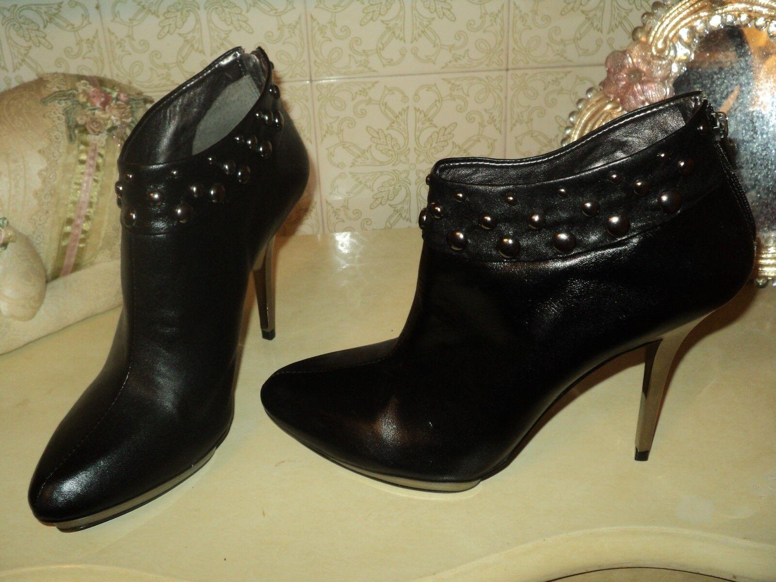 più economico TABITA nero  LEATHER ANKLE scarpe stivali RIVETS METALLIC STILETTO STILETTO STILETTO EU39UK6US8  omaggi allo stadio