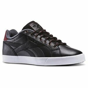 Image is loading REEBOK-ROYAL-COMPLETE-2LW-SHOE-SHOES-CLASSIC-BLACK-
