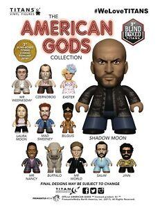 "Titans Neil Gaiman American Gods czernobog 3/"" Vinyl Figure"