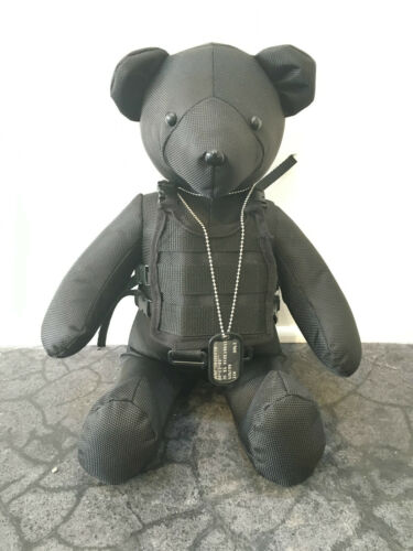 Dee & Ricky Teflon Ted the Ballistic Nylon Teddy Bear