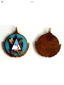 Skiing Medal jewellery.