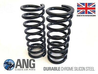 CHA570 MG MIDGET 1500 FRONT SUSPENSION SILICON CHROME ROAD SPRINGS x 2