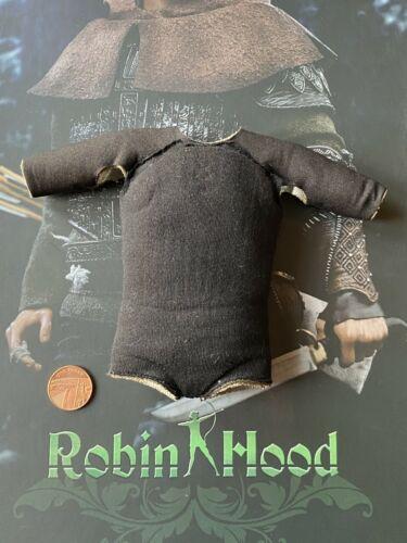 POP Toys EX21 Robin Hood Black Padded Shirt loose 1//6th scale