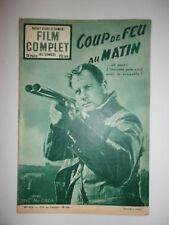 FILM COMPLET N°425 1953 COUP DE FEU AU MATIN / JOEL Mc CREA