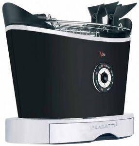 BUGATTI-Toaster-Volo-Schwarz-13-VOLON-NEU