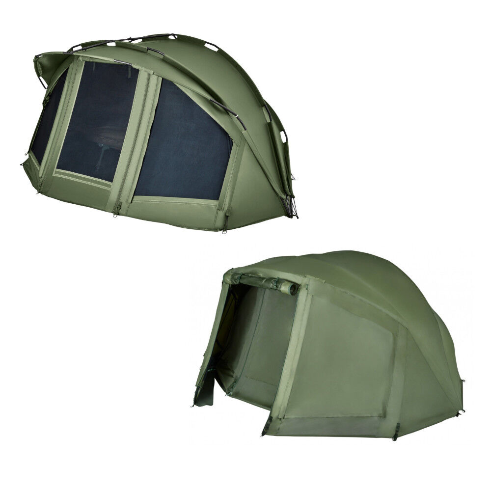 Trakker SLX V3 2 Man Bivvy and Wrap Overwrap Combo NEW 201405 & 201407