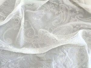 edel 100 seide silk seidenchiffon paisley brautkleid meterware wollwei. Black Bedroom Furniture Sets. Home Design Ideas