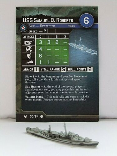 AXIS /& ALLIES WAR AT SEA MINIATURES MULTI-LIST BASE SET WIZARDS OF THE COAST