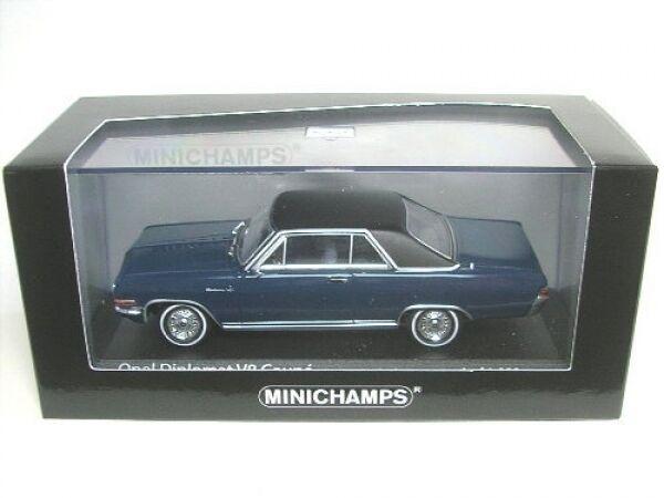Opel Diplomat V8 Coupe (dark Blau) 1965  1 43  | Online Shop Europe