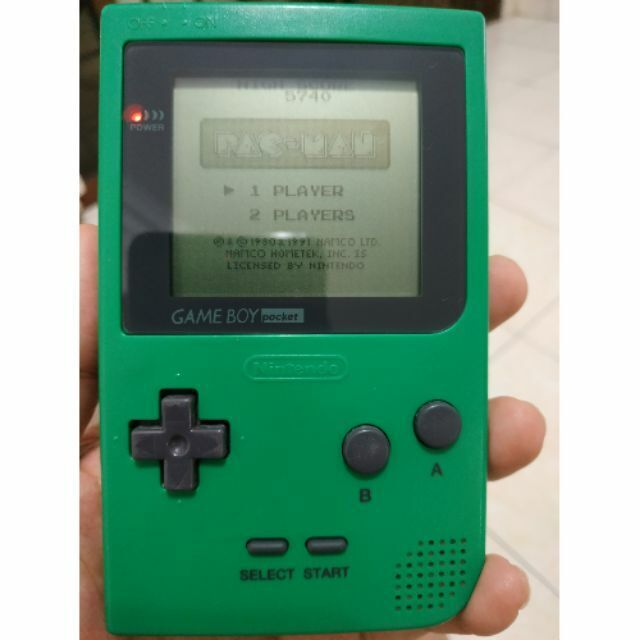 Nintendo Game Boy Pocket Launch Edition Green Handheld System