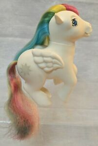My Little Pony MLP G1 Pegasus Rainbow Starshine Made in Italy *Imperfect-Read*