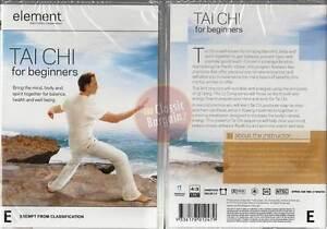 TAI-CHI-FOR-BEGINNERS-Element-Mind-amp-Body-fitness-DVD-Region-4-Australia