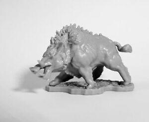 1 x DIRE BOAR - BONES 4 REAPER figurine miniature rpg core sanglier chaos 77672