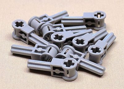 Technic NEW LEGO Axle Connector Pole Reverser Handle Gray Dark Bluish x10