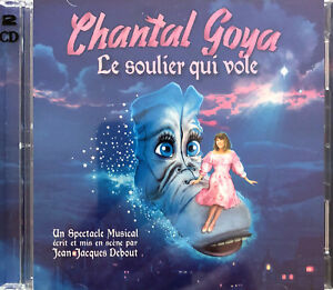 Chantal-Goya-2xCD-Le-Soulier-Qui-Vole-France-M-M