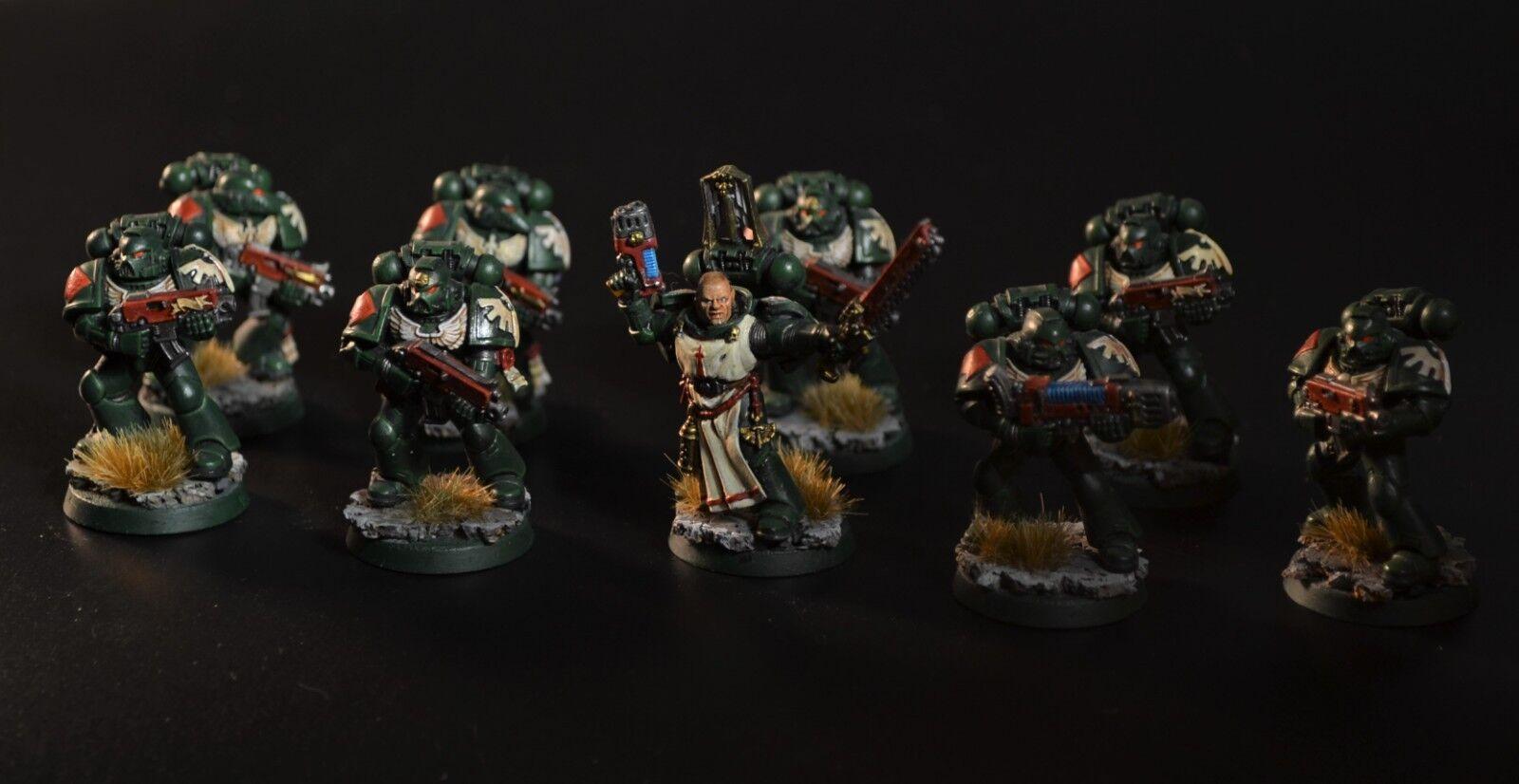 Dark Angels Tactical Squad pintado warhammer 40000