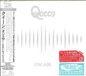 QUEEN-ON-AIR-THE-COMPLETE-BBC-SESSIONS-JAPAN-2-SHM-CD-BOOK-I19