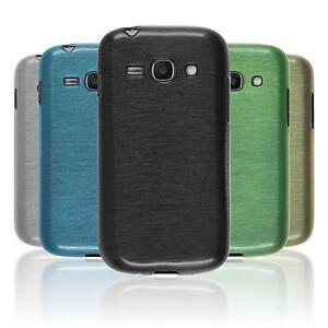 Silikon-Hulle-fur-Samsung-Galaxy-Ace-3-brushed-2-Schutzfolien