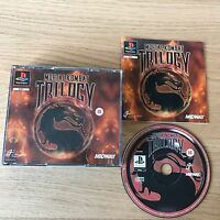 Mortal Kombat Trilogy PS1 PlayStation 1 Game | PAL Complete | Rare Big Box