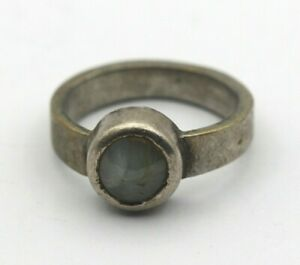 Natural Chrysoberyl Cats-eye 3.970 Grams Old Vintage Fine Jewelry Gemstone Ring