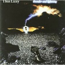 THIN LIZZY - THUNDER AND LIGHTNING  CD  9 TRACKS CLASSIC HARD ROCK  NEU