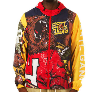 NEW HUSTLE GANG one culture jacket 271-8400 peacoat