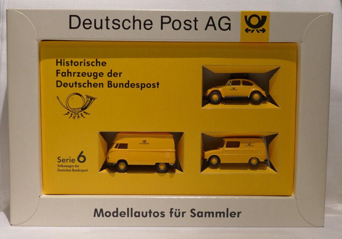 Brekina Serie 6 Historische Fahrzeuge der Deutschen Bundespost 435    Verrückte Preis