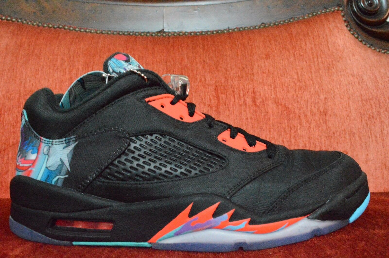 WORN 2X NIKE Air Jordan 5 V Retro Low China CNY 840475 060 OG ALL Comfortable Comfortable and good-looking