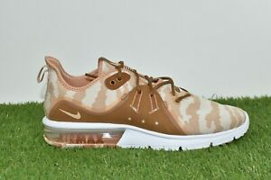 017d642b392ff Nike Air Max Sequent 3 Premium Camo Size 13 Cream Running Sneakers ...