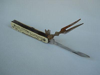 Vintage Soviet USSR Folding Pocket Knife 'Gorky' 1980s