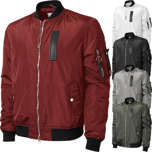 72133a41d Lacoste 'l Ve' Multi Pocket Bomber Jacket - Mens 54 for sale online ...