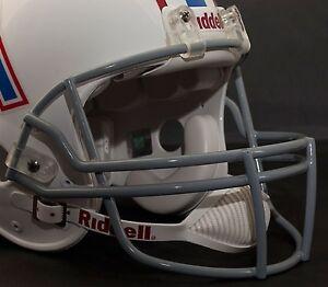 Riddell-Z2B-OPO-Adult-Football-Helmet-FACEMASK-FACE-MASK-FACE-GUARD-GRAY