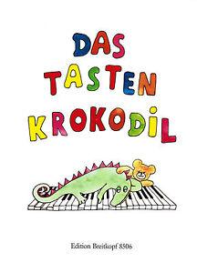Klavier-Noten-Das-Tastenkrokodil-EB-8506-leicht-leichte-Mittelstufe