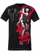 Marc Ecko Limited Edition Playboy Graphic Men's T-Shirt M Cotton Black NEW